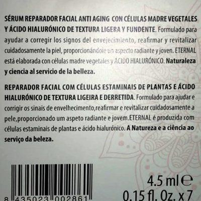 serum etiqueta